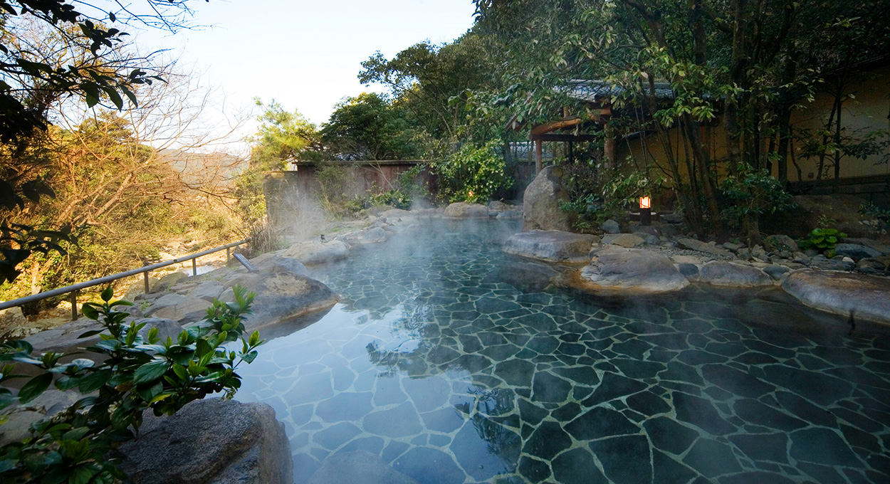 The Water of Beautiful Skin - Ureshino Onsen Ryokan[SHIIBA SANSO]